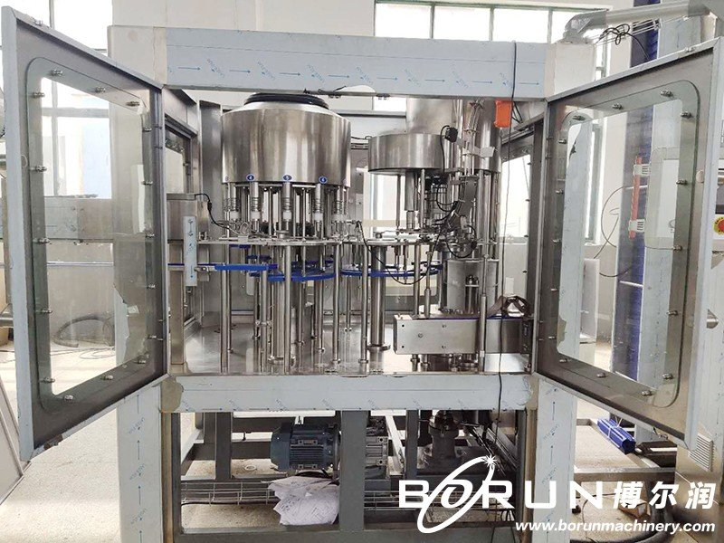 Automatic Glass Cleaner Water Filling Bottling Capping Machine (5000BPH)